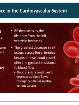 פיזיולוגיה של המערכת הקרדיו-ווסקולרית חלק 4
